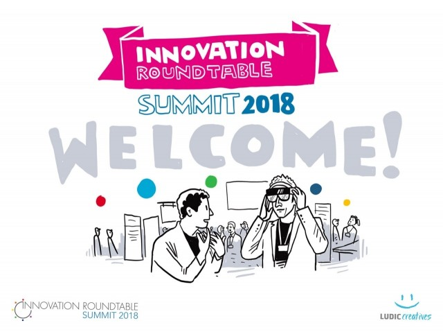 Ludic Creatives are Technology Partners of the Innovation Roundtable Summit 2018 held this week in Copenhagen