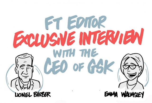 FT Editor exclusive interview with the CEO of GSK